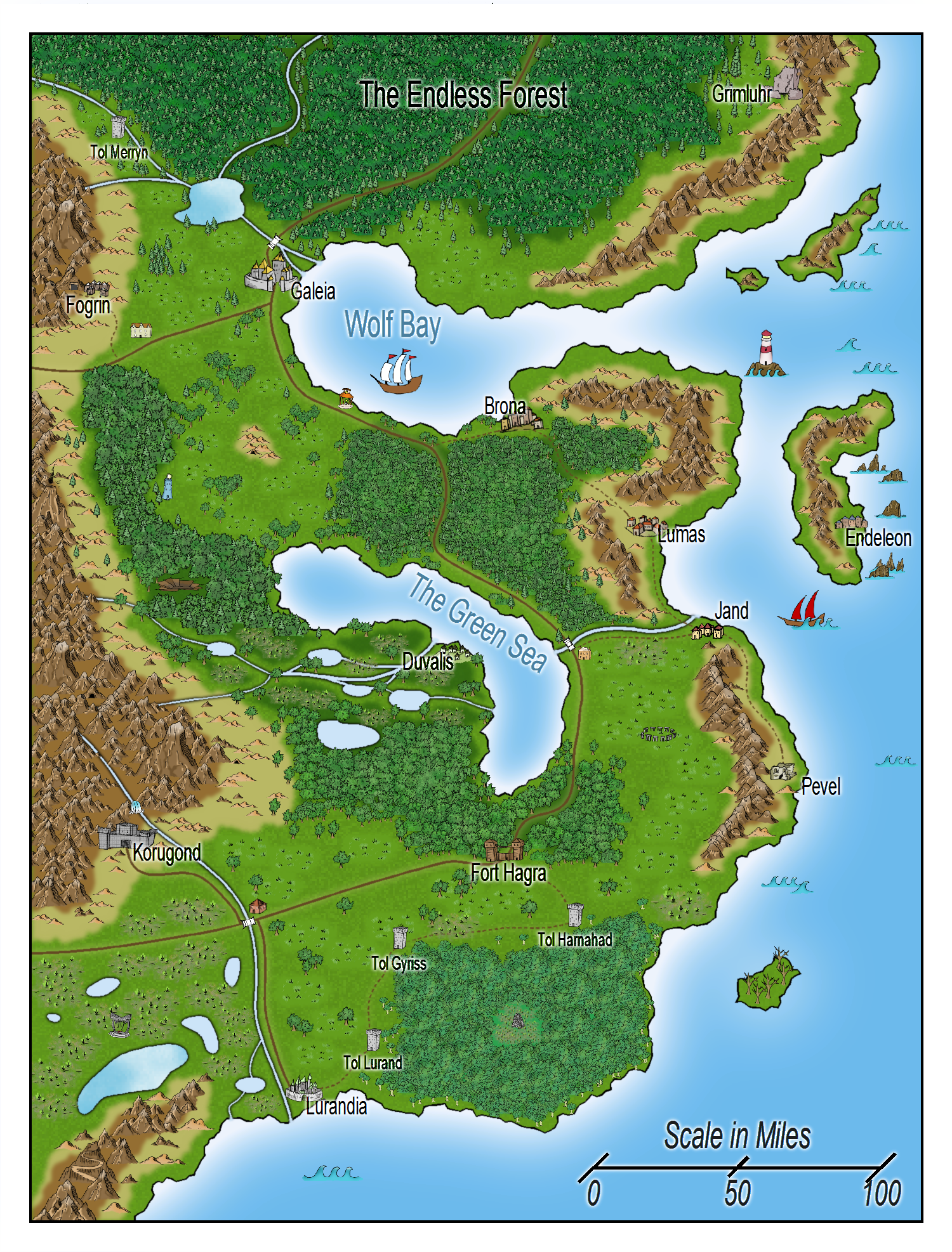 how to make a map online